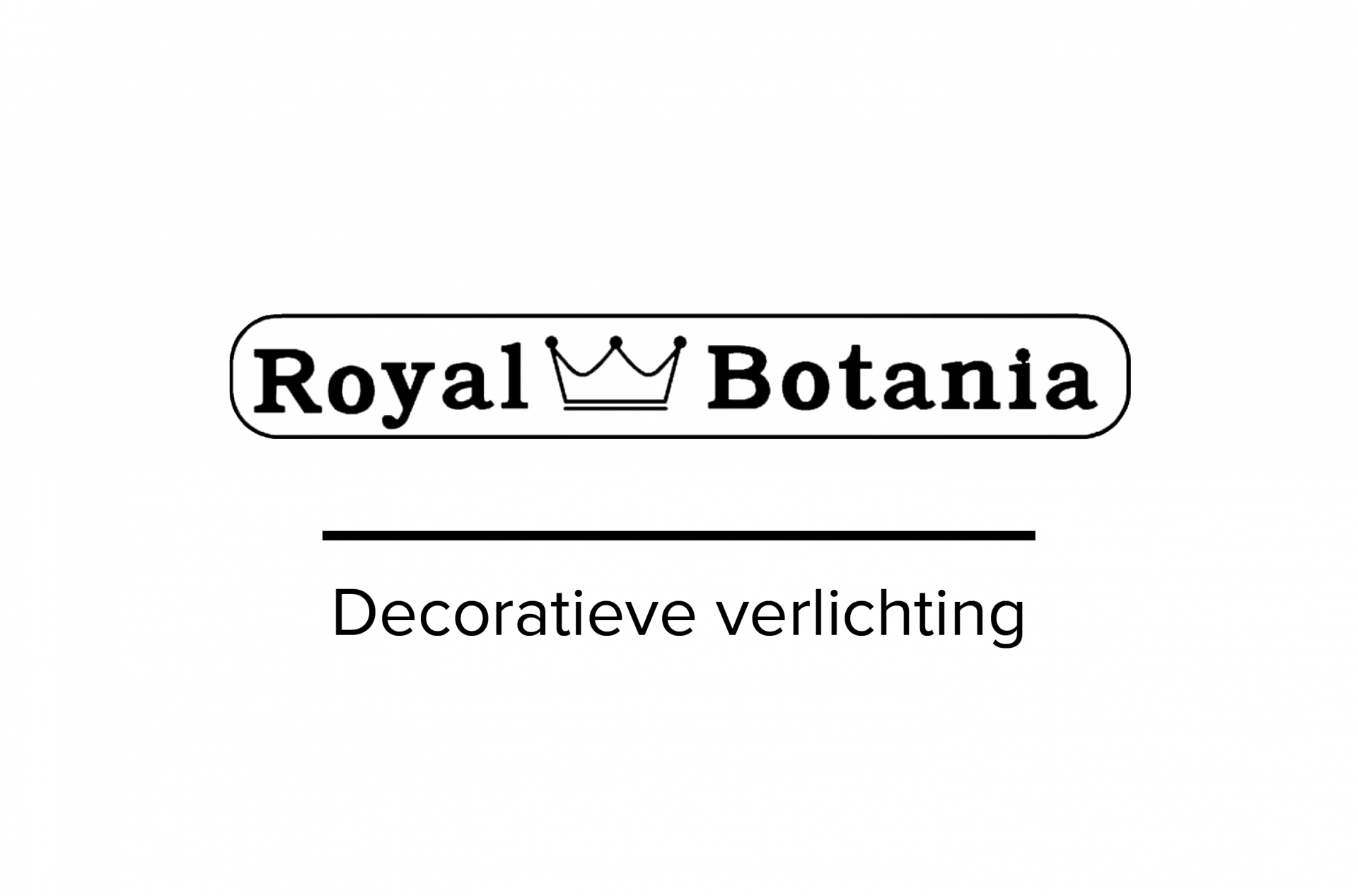 Royal Botania designverlichting